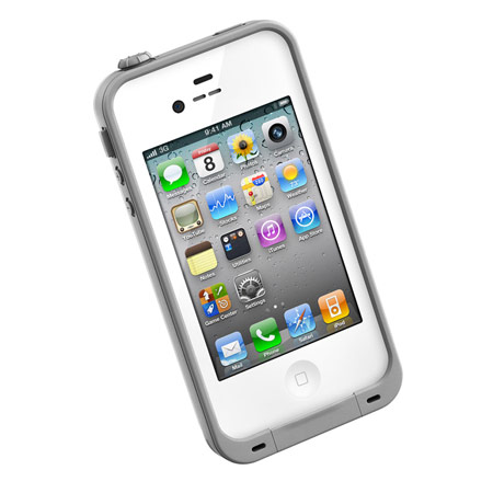 lifeproof iphone 4s case lifeproof indestructible for iphone 4s 4 white 3198