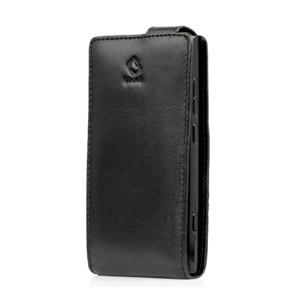 Capdase SmartFlip Case For Nokia Lumia 800 - Black