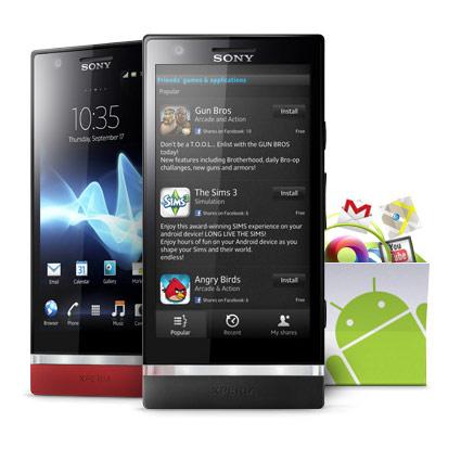 Sim Free Sony Xperia P 16GB - Black