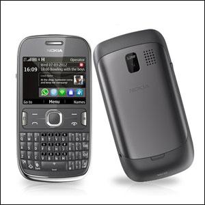 Sim Free Nokia Asha 302 - Black