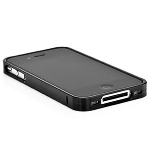 best service 43bd8 7e118 Capdase Alumor Bumper for iPhone 4S / 4 - Black