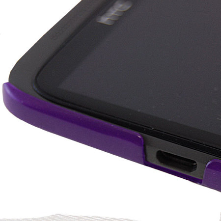 HTC HC C702 Ultra Thin Hard Shell For HTC One X - Purple