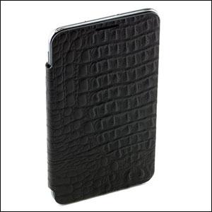 Genuine Samsung Galaxy Note Flip Cover - Lizard- SAMGNLFC
