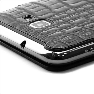 Genuine Samsung Galaxy Note Flip Cover - Lizard- SAMGNLFC