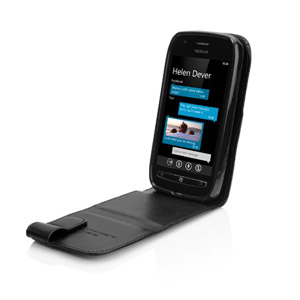 Capdase SmartFlip Case For Nokia Lumia 710 - Black