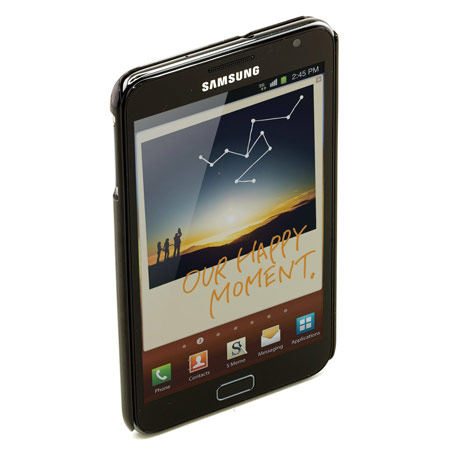 Galaxy Note Hard Case SAMGNHCBK  - Black