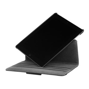 Targus Rotating Leather Style Case for iPad 3 - Black