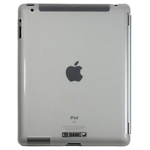 Cool Bananas SmartShell for iPad 3 - Clear