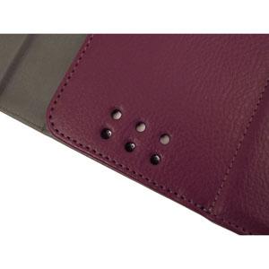 KeyCase iPad Folio Deluxe with Bluetooth Keyboard - Purple