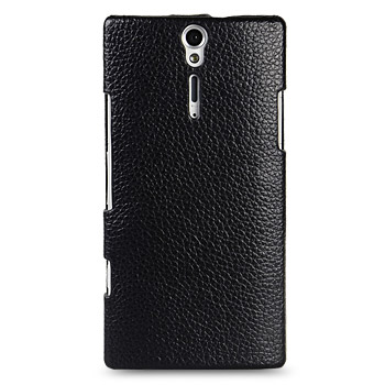 Melkco Premium Leather Flip Case for Sony Xperia S