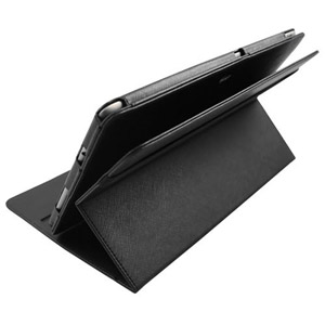 Leather Style Rotating Case for Transformer Prime - Black