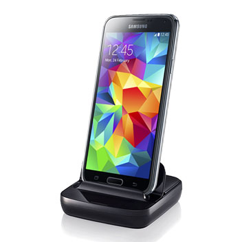 Samsung Desktop Dock for Galaxy Phones - Black