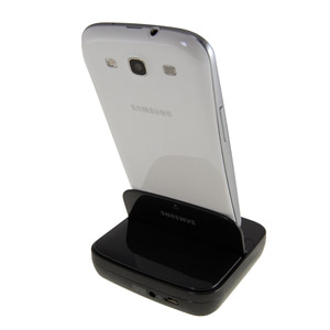 Samsung Desktop Dock for Galaxy S3 - EDD-D201BEGSTD