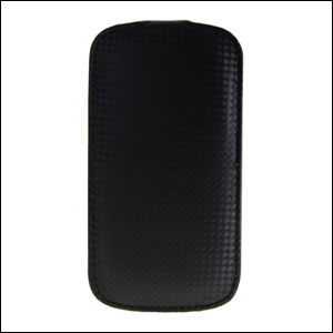 Slimline Carbon Fibre Style Flip Case for Samsung Galaxy S3
