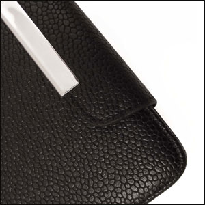 Samsung Galaxy S3 Leather Style Flip Case - Black