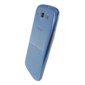 Genuine Samsung Slim Case - Blue - EFC-1G6SBEC