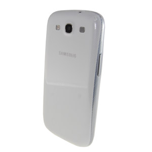 Genuine Samsung S3 Slim Case - White - EFC-1G6SWEC - Twin Pack
