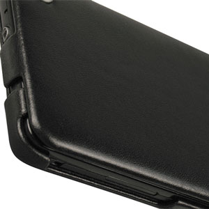 Housse en cuir Samsung Galaxy S2 Norêve Tradition A - Blanche - vue de face