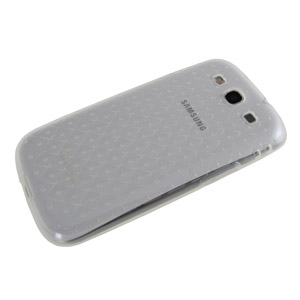 Genuine Samsung Galaxy S3 TPU Case - Clear- SAMGSVTPUCL