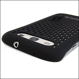 Genuine Samsung Galaxy S3 Mesh Vent Case - Black