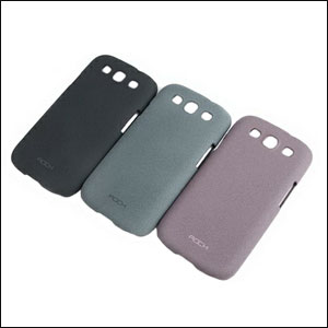 Rock Ultra Thin NakedShell Faceplte - Samsung Galaxy S3 - Grey