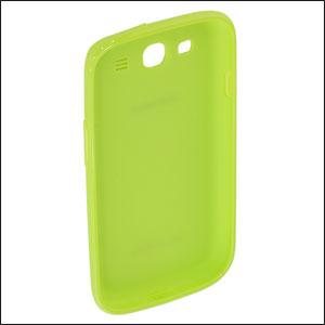Genuine Samsung Galaxy S3 TPU Protective Cover - Green - EFC-1G6WMEC