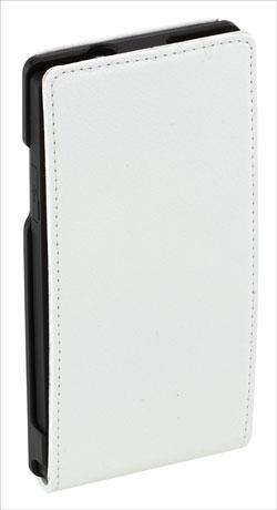 Sony Xperia S SMA5118W Leather Flip Case - White