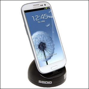 Seidio Innodock Case Compatible Desktop Cradle - Samsung Galaxy S3