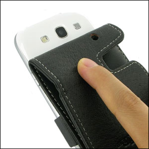 PDair Leather Flip Case - Samsung Galaxy S3
