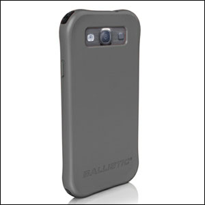 Go Ballistic Hard Core Series Case For Samsung Galaxy S3 - Grey