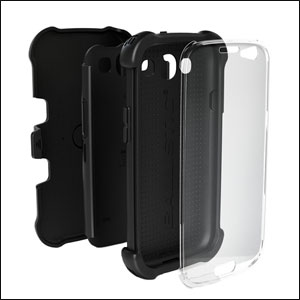 Go Ballistic SG Maxx Series Case For Samsung Galaxy S3 - Black