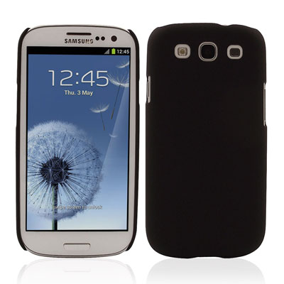 ToughGuard Shell For Samsung Galaxy S3 - Black