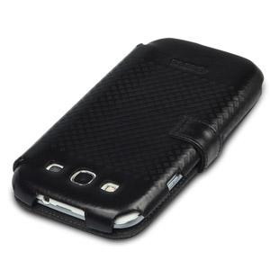 Zenus Prestige Leather Samsung Galaxy S3 Diary Series Case - Black