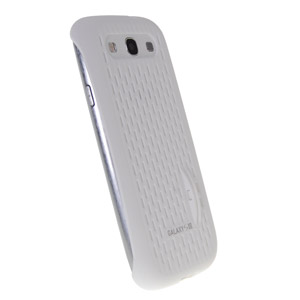 Genuine Samsung Galaxy S3 Mesh Vent Case - White