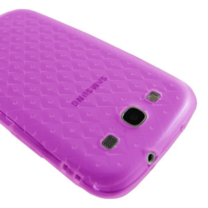 Samsung Galaxy S3 TPU Case - Pink - SAMGSVTPUCL