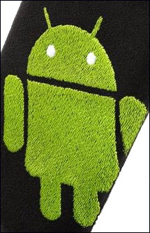 fitBag Android Cleaning Pouch for Galaxy S3 Flip Case