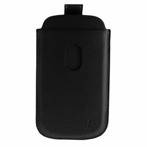 Belkin Leather Style Pouch for Samsung Galaxy S3 - Black