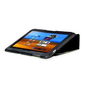 Capdase Folio Samsung Galaxy Tab 2 (10.1) Case - Black / Green