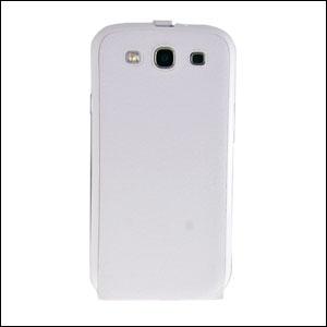 Genuine Samsung Galaxy S3 Flip Case - White