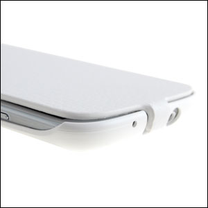 Genuine Samsung Galaxy S3 Flip Case - White
