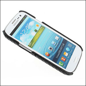 Samsung Galaxy S3 Twilled Back Case Black