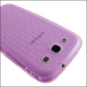 Samsung Galaxy S3 TPU Case - Purple - SAMGSVTPUPU