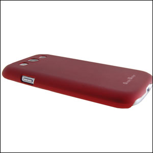 Metal-Slim Protective Case For Samsung Galaxy S3 - Red