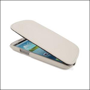 Slimline Carbon Fibre Style Flip Case for Samsung Galaxy S3
