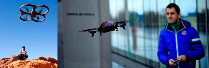 Parrot AR.Drone 2.0 Elite Edition HD Quadrocopter - Sand