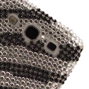 Samsung Galaxy S3 Diamante Back Cover - Zebra