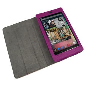 Housse Google Nexus 7 SD TabletWear SmartCase - Violette - intérieur