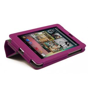 Housse Google Nexus 7 SD TabletWear SmartCase - Violette - velcro