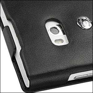 Noreve Tradition A Leather Case for Nokia Lumia 900 - Black