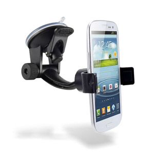 Support voiture universel pare brise Arkon Mobile Grip MG114 Deluxe - profil